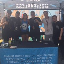 Wage War Warped Tour