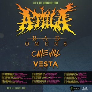 Attila Lets Get Abducted Poster
