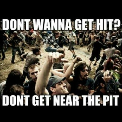 leave the pit