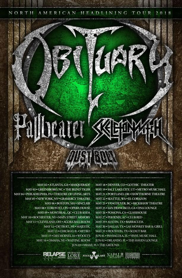Obituary tour