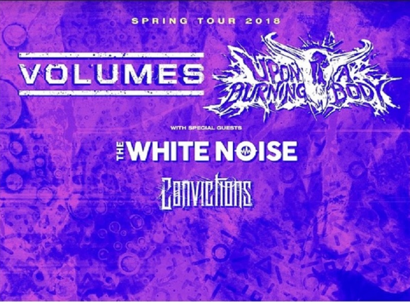 Volumes Spring Tour 2018