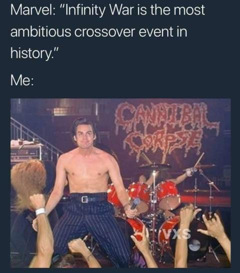 jim carry fronting cannibal corpse