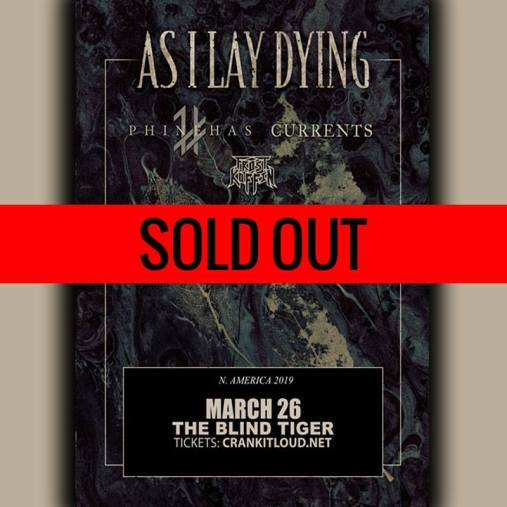 as i lay dying sold out